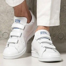 adidas originals - ADIDAS ORIGINALS FOR EDIFICE STANSMITH CF EF WHITE/BLUE