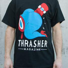 THRASHER - Credit Card T-Shirt By Parra