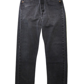 Levi's - Levis501 Black Denim