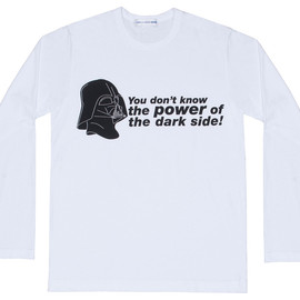COMME des GARCONS SHIRT - CDG Shirt x Star Wars Long Sleeve T-Shirt (White)