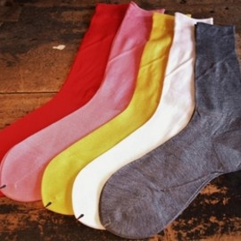 ARTS&SCIENCE - Plain cotton socks