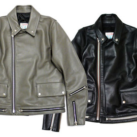UNDERCOVERISM - UNDERCOVERISM 2009AW ONE STAR LEATHER JACKET
