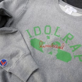 lyrical school, TOKYO CULTUART by BEAMS - I.D.O.L.R.A.P CREW SWEAT