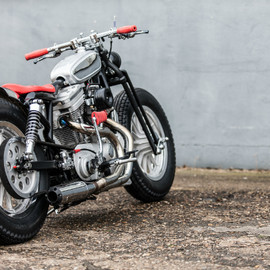 HARLEY DAVIDSON - SPORTSTER XL1200 BOBBER BY MB CYCLES