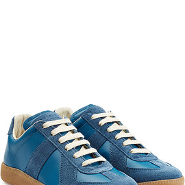 Maison Martin Margiela - Leather and Suede Sneakers