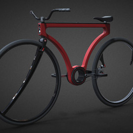 """Twist"" bicycle concept"