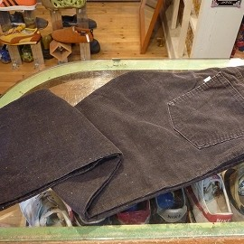"""Levi's - 「<used>70's Levi's 519 CORDS black""""made in USA"""" size:33×29 6800yen」完売"""