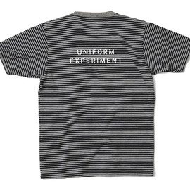 uniform experiment - BORDER TRIM TEE