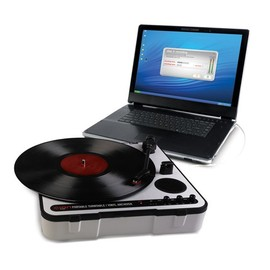 ION Audio - iPTUSB - Portable USB Turntable