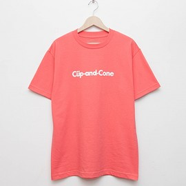 cup and cone - Ice Cream Tee - Strawberry