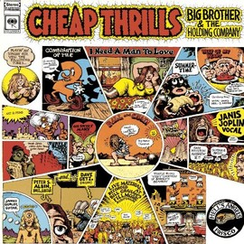 ジャニス・ジョップリン BIG BROTHER & HOLDING COMPANY - Cheap Thrills