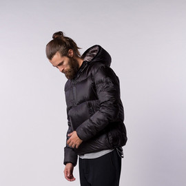 ISAORA - BLACK DOWN JACKET (Style No. 5950)