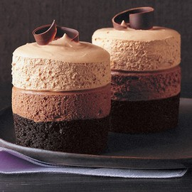 Martha Stewart - Triple-Chocolate Mousse Cake