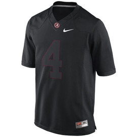 Nike - Alabama Blackout Jersey - #4
