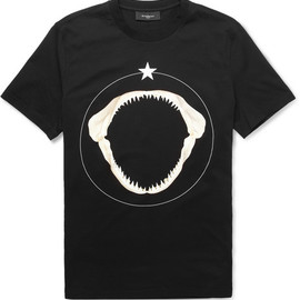 Givenchy - Shark Teeth-Print Cotton T-Shirt
