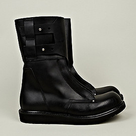 Rick Owens - Military Boots in Black