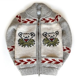 granted - Official Grateful Dead Marching Bear Sweater