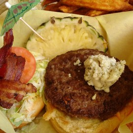 Cheeseburger in Paradise - Honolulu - Pineapple Cheeseburger