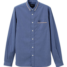 FRED PERRY - Taped Collar End On End Shirt