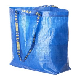 IKEA - FRAKTA Shopping bag, medium, blue