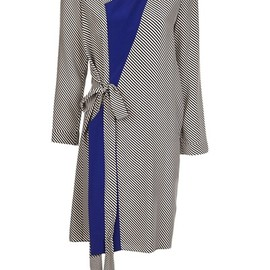 Bouchra Jarrar - Striped wrap dress