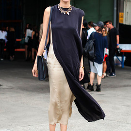Lanvin - silk maxi dress