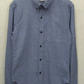 BAND OF OUTSIDERS - B.D. SHIRT Blue Chambray