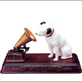 His Master's Voice - ニッパー置物3点セット