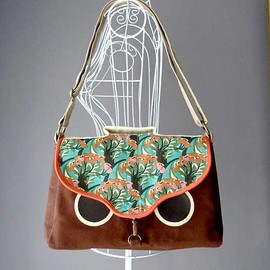 littleoddforest - Hoot The Owl Satchel (Amazonian Fauna)