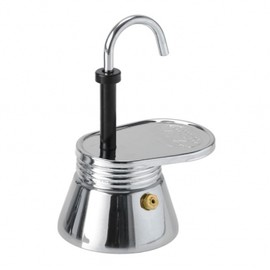 GLACIER stainless - 1 cup stainless Mini Expresso