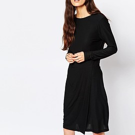 ASOS - Selected Milan Dress with Drape Skirt £65.00