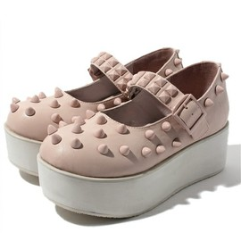 Candy stripper - SNAG STUDS HIGH SOLE SHOES