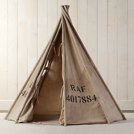 Restoration Hardware - Recycled Canvas Play Tent