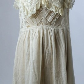 Wedding Lingerie, 1901, American, cotton and silk