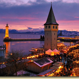 Lindau - Lindau Harbour and Christmas Market