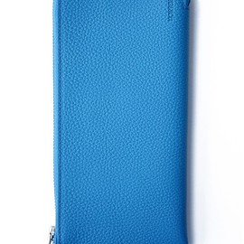 bal - BAL/PORTER® THIN LEATHER WALLET L (cyan)