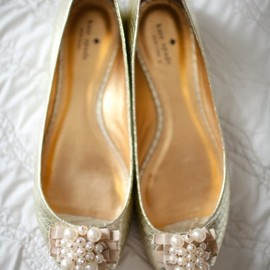 kate spade NEW YORK - Flats. Pearls.