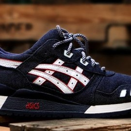 asics, Ronnie Fieg - Gel-Lyte III - Selvedge Denim
