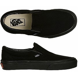 VANS - CLASSIC SLIP-ON Black/Black