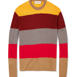 Marni - Striped Cotton Sweater