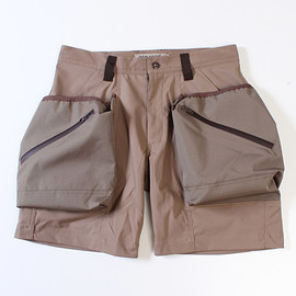 TROVE - TROVEx岡部文彦 / BIG POCKET SHORTS Ver:6 ( TYPE ACTIVE ) / BEIGE