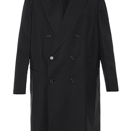 VETEMENTS - Brioni oversized double breasted wool coat