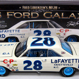 """University of Racing - Fred Lorenzen """"Lafayette Ford"""" 1965 Ford Galaxie"""