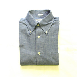 INDIVIDUALIZED SHIRTS - HERITAGE CHAMBRAY STANDARD FIT B,D