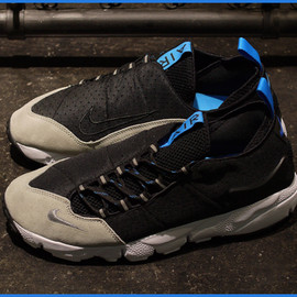 Nike - Air Footscape Motion - Black/Grey/Blue