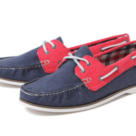 VANS - YACHT MASTER V3614L-BCK SP12 NAVY/RED