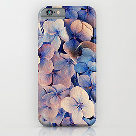 Msimioni, Society6 - Blue Dreams iPhone & iPod Case