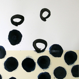 Itchingink - gruissan bubbles Ⅰ, 2008, acrylic on paper