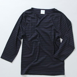 International Gallery BEAMS - Letroyes / ボーダー ボートネックTシャツ