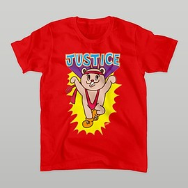 shijoru - JUSTICE Tシャツ